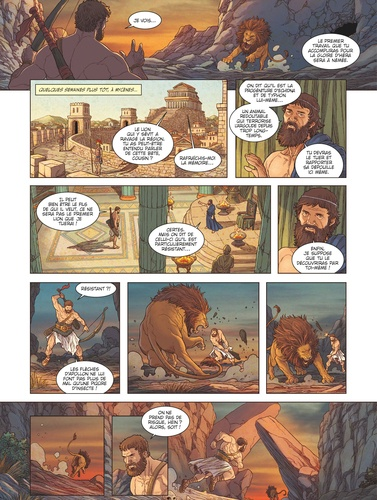 Heraclès Tome 2 Les Douze travaux