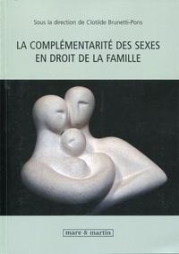 Deedr.fr La complémentarité des sexes en droit de la famille Image