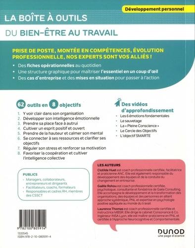 La boîte à outils du bien-être au travail 2e édition