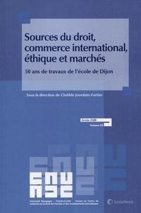 Birrascarampola.it Sources du droit, commerce international, éthique et marchés - 50 ans de travaux de l'école de Dijon Image