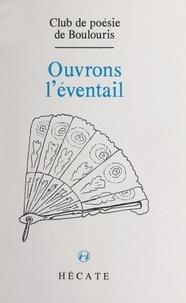 Club de poésie de Boulouris - Ouvrons l'éventail.