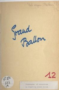 Club Vosgien Section de Saint- - Grand Ballon - Promenades et excursions au départ du Grand Ballon.