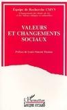 Cmvv - Valeurs et changements sociaux.