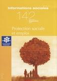 Michel Borgetto - Informations sociales N° 142, Septembre 20 : Protection sociale et emploi.