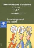 Catherine Vérité - Informations sociales N° 167, Septembre-oc : Le management du social.