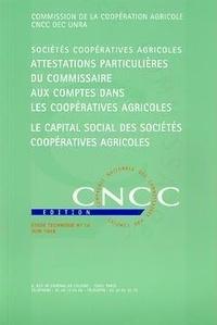 CNCC - Attestations particulières du commissaire aux comptes dans les coopératives agricoles.