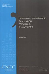 CNCC - Diagnostic stratégique, évaluation, prévisions, transactions.