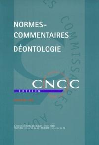 CNCC - NORMES-COMMENTAIRES DEONTOLOGIE.