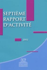 Icar2018.it Commission nationale des comptes de campagne et des financements politiques - Septième rapport d'activité 2002 Image