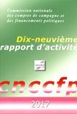 CNCCFP - Commission nationale des comptes de campagne et des financements politiques - Dix-neuvième rapport d'activité.