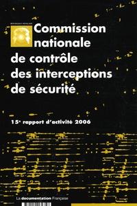 Galabria.be Commission nationale de contrôle des interceptions de sécurité - 15e rapport d'activité 2006 Image