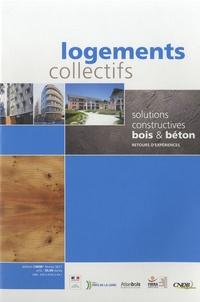 CNDB - Logements collectifs - Solutions constructives bois et béton.