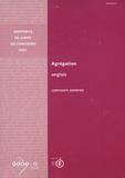 CNDP et  Ministère Education Nationale - Agrégation Anglais - Concours externe 2003.