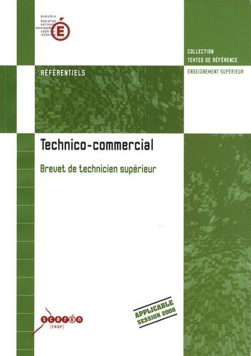 Bts Technico Commercial De Cndp Livre Decitre