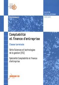 Satt2018.fr Comptabilité et finance d'entreprise Tle STG Image