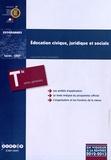 CNDP - Education civique, juridique et sociale Tle séries générales (ES, L, S) - Programme en vigueur à la rentrée de l'année scolaire 2012-2013.