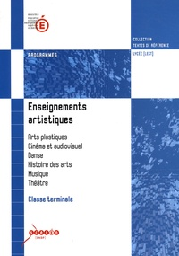 Checkpointfrance.fr Enseignements artistiques Classe terminale - Programmes Image