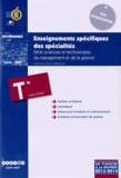 CNDP - Enseignements spécifiques des spécialités Tle STMG.