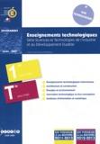 CNDP - Enseignements technologiques 1e et Tle STI2D - Programmes.