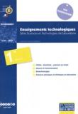 CNDP - Enseignements technologiques 1e STL - Programmes.