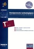 CNDP - Enseignements technologiques Tle STL - Programmes 2012-2013.