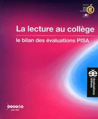 CNDP - La lecture au collège - Le bilan des évaluations PISA.