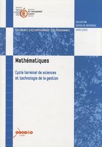 Feriasdhiver.fr Mathématiques Cycle terminal de sciences et technologie de la gestion - Documents d'accompagnement des programmes Image