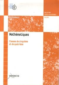Deedr.fr Mathématiques - Classes de 5e et de 4e Image