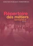 CNFPT - Répertoire des métiers territoriaux.