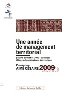 Deedr.fr Une année de management territorial - Promotion Aimé Césaire 2009-2010 Image