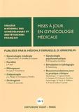CNGOF et Bernard Hédon - Mises à jour en gynécologie médicale.