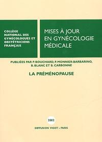 CNGOF - Mises à jour en gynécologie médicale. - La pré-ménopause.