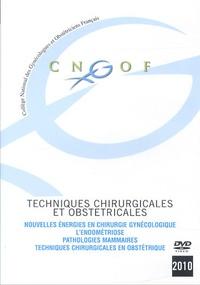 CNGOF - Techniques chirurgicales et obstétricales.