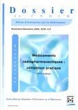 Marie-Caroline Husson - Dossier du CNHIM Volume 26 N° 4-5, No : Médicaments pharmaceutiques : utilisation pratique.
