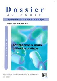 Marie-Caroline Husson - Dossier du CNHIM Volume 41 N° 3-4, 20 : Anticancéreux oraux - Utilisation pratique.
