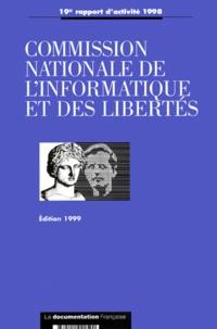 Deedr.fr Commission nationale de l'informatique et des libertés - 19e rapport d'activité 1998 Image
