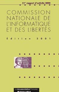 CNIL - Commission nationale de l'informatique et des libertés - 21e rapport d'activité 2000.