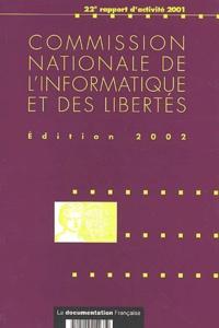 Histoiresdenlire.be Commission nationale de l'informatique et des libertés - 22e rapport d'activité 2001 Image