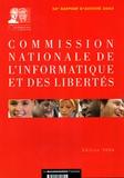 CNIL - Commission nationale de l'informatique et des libertés - 26e rapport d'activité 2005. 1 Cédérom
