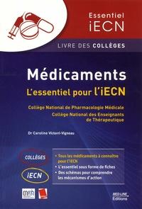 CNPM et  APNET - Médicaments - L'essentiel pour l'iECN.