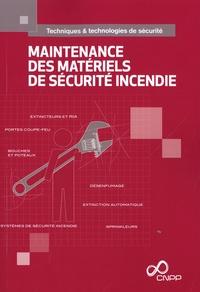 CNPP - Maintenance des matériels de sécurité incendie.