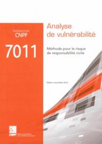 Deedr.fr Référentiel CNPP 7011 Analyse de vulnérabilité - Méthode pour le risque de responsabilité civile Image