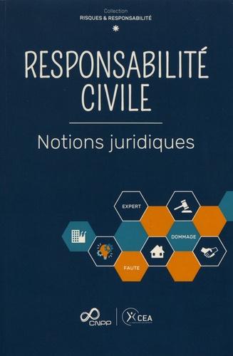 Responsabilité civile. Notions juridiques
