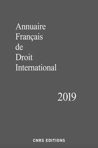 CNRS - Annuaire français de droit international - Tome 65.