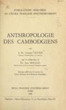 CNRS et Jean Moullec - Anthropologie des Cambodgiens.