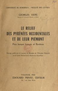 CNRS et  Ministère de l'Éducation Natio - Le relief des Pyrénées occidentales et de leur piémont - Pays basque français et Barétous.