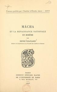 CNRS et  Institut d'Études Slaves de Un - Mácha et la Renaissance nationale en Bohême.
