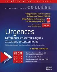 CNUMU et  APNET - Urgences - Défaillances viscérales aiguës, situations exceptionnelles.