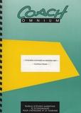 Coach Omnium - Tourisme d'affaires de groupes - Synthèse d'étude.