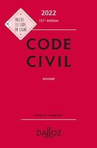 Xavier Henry - Code civil 2022, annoté - 121e ed..